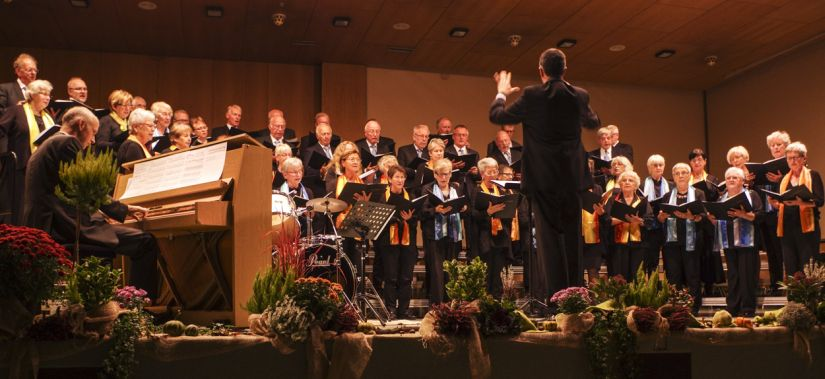 Chorkonzert des Liederkranz Malmsheim am 17.10.15