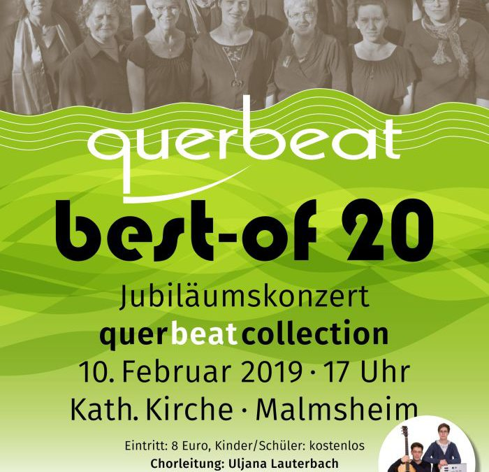 Vorverkauf für Querbeat Konzert am 10.2.2019 gestartet!